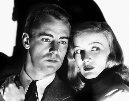 This was Alan Ladd and Veronica Lake's third movie together.
