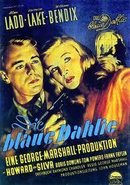 Blue Dahlia poster