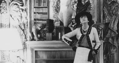 Coco Chanel's design aesthetic was partly influenced by the time she spent in the Aubazine convent in central France.