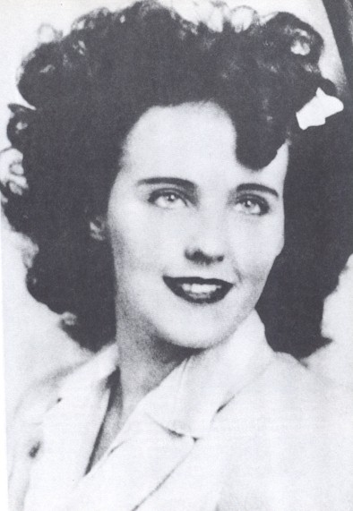 Elizabeth Short became known as the Black Dahlia.