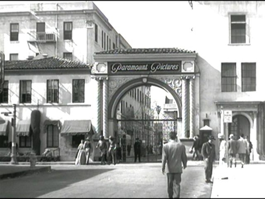 Billy Wilder filmed the Schwab's  scene at Paramount.