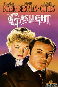 "Boyer drives Bergman nuts in ""Gaslight."""