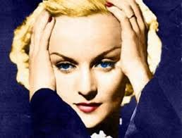 Carole Lombard died  in a plane crash in 1942. She was 33.