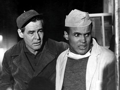 "Robert Ryan and Harry Belafonte lead a stellar cast in ""Odds Against Tomorrow."""