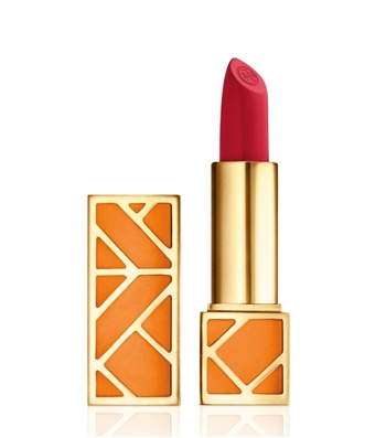 Nothing sets off the peaches-and-cream complexion of an Irish lass like a classic red lipstick. Our pick: Scoundrel, new from Tory Burch.