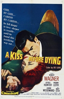 A Kiss Before Dying poster