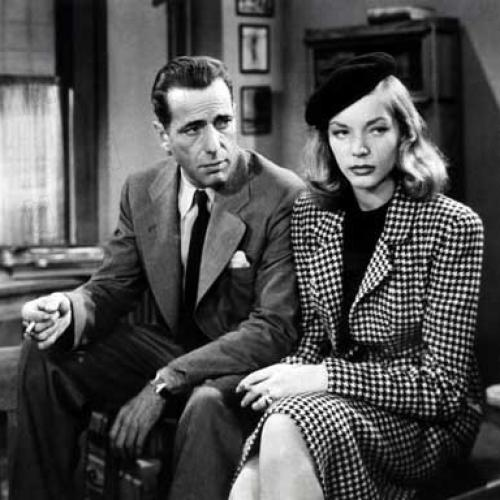 "It doesn't get any better than Bogie and Bacall in ""The Big Sleep."""