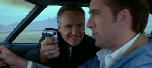 "Dennis Hopper plays the ""real"" hitman from Texas."