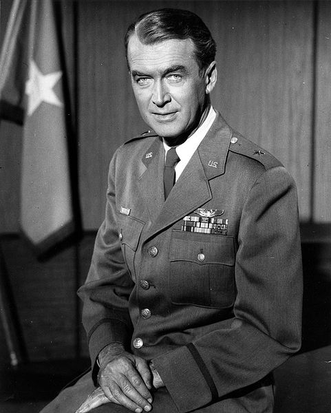 James Stewart in uniform