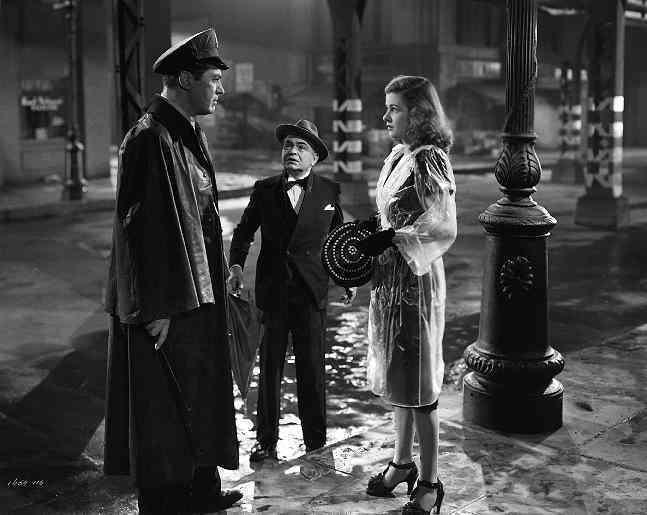 """Scarlet Street"" (1945) stars Edward G. Robinson and Joan Bennett."