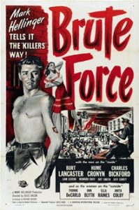 Brute Force movie poster color