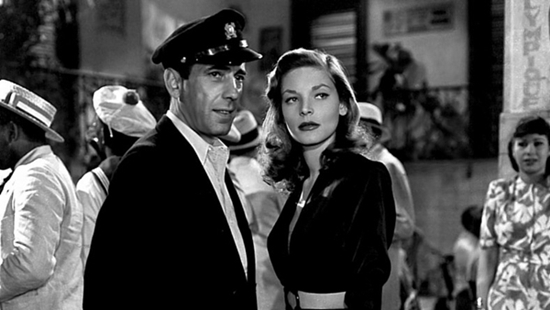"Director Howard Hawks discovered Lauren Bacall and cast her opposite Humphrey Bogart. They fell for each other while making ""To Have and Have Not."" She was 19."