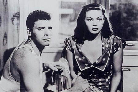 "Yvonne De Carlo and Burt Lancaster play doomed lovers in ""Criss Cross,"" (1949, Robert Siodmak). The movie will play in January."