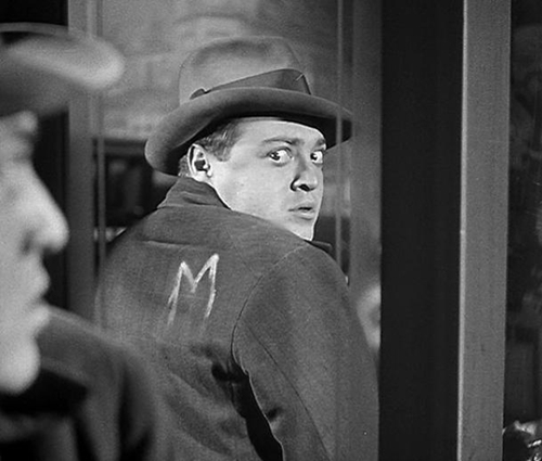 "Peter Lorre became a star playing a serial killer in the German classic ""M."""