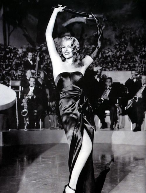 Rita Hayworth was Columbia Pictures' top female star in the mid-1940s.