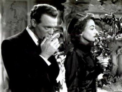 "Van Heflin is immune to Joan Crawford's charm in ""Possessed."" What nerve!"