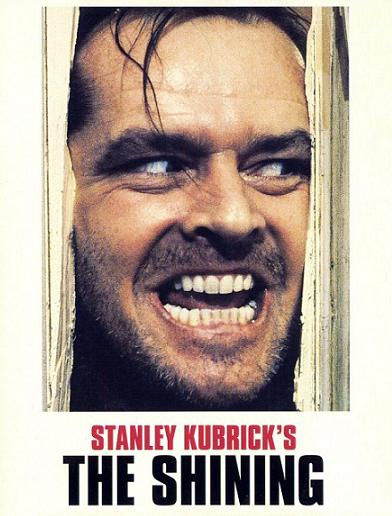 The Shining poster Jack Nicholson