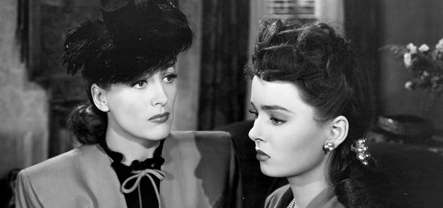 Mildred Pierce (1945). Shown: Joan Crawford and Ann Blyth. Photo © Warner Bros.