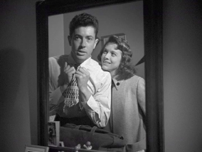 """Side Street"" was the second noir to feature young lovers played by Farley Granger and Cathy O'Donnell."