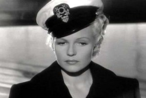 "Rita Hayworth went blonde for ""Lady"" but her new look was not well received. Hmmpf!"