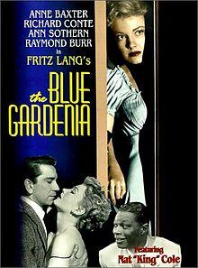 Blue Gardenia poster