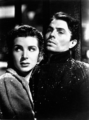 Kathleen Ryan plays Johnny's love interest.