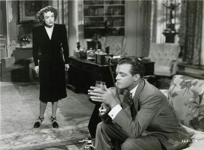 """He's just not that into you …"" does NOT go over well with Miss Crawford. The very talented Van Heflin plays the heel in ""Possessed."""