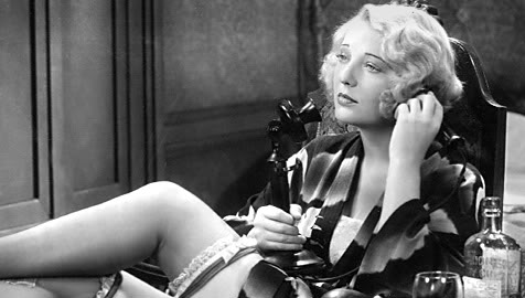 "Dorothy MacKaill lights up the screen in ""Safe in Hell"" (1931, William Wellman)."