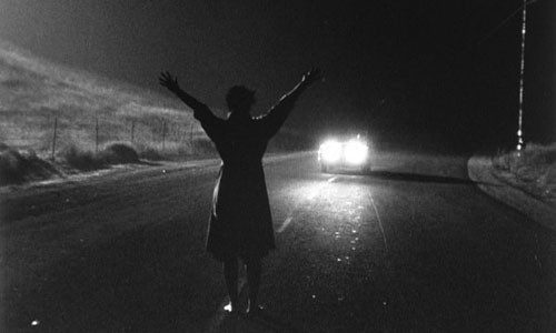 """Kiss Me Deadly"" has an unforgettable opening."
