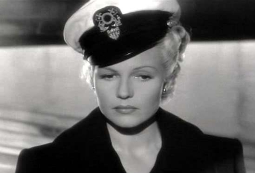 "Rita Hayworth went blonde for ""The Lady from Shanghai."""