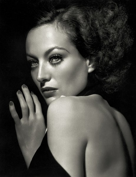 Joan Crawford in her glory days, shot by George Hurrell.