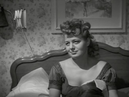 "Shelley Winters plays a frumpy romantic in ""Odds Against Tomorrow."""
