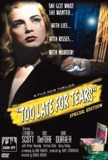 Too Late for Tears poster