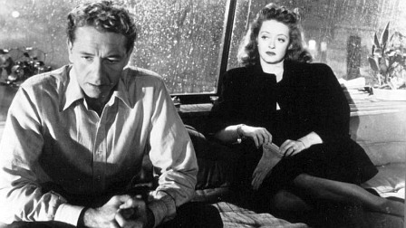 "Paul Henreid and Bette Davis try to recapture their love in ""Deception."""